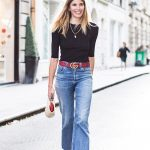 High waisted jeans outfit ideas