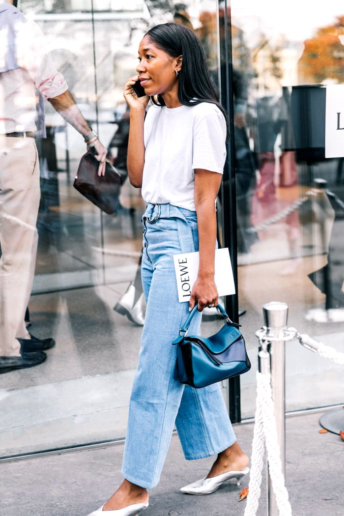 high waisted jeans outfit pinterest KQYZYXC