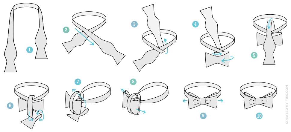 How to tie a bow tie how to tie a bow tie in 10 easy steps IYYPOAU