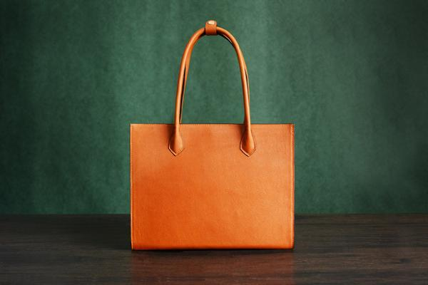 ITALIAN TOTE BAGS ... 100% handmade italian vegetable tanned leather tote bag, shoulder bag,  lady shopper bag ... LAAUVVQ