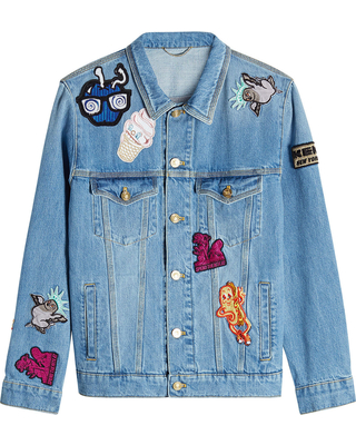 Jackets with Patches kenzo denim jacket with patches DYHAAAI