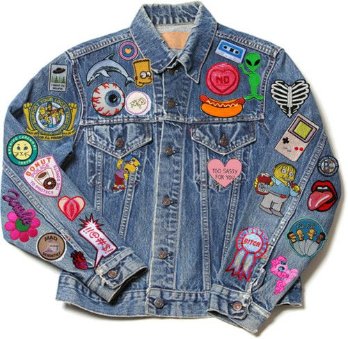 Jackets with Patches one morning, as usual i was browsing the internet and i saw this picture on HAYGSFJ