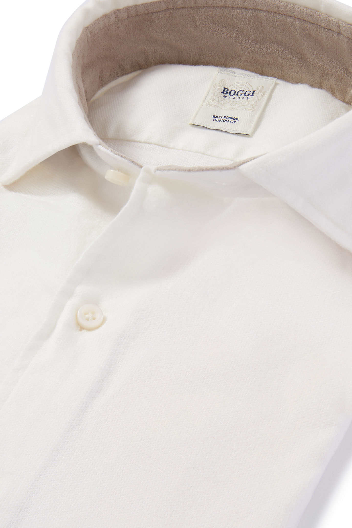 Kent Collar Shirt custom fit white shirt with kent collar, white, small ... KQHDAOC