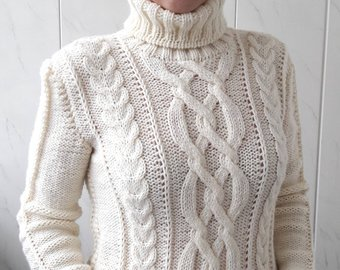Knitted sweaters hand knit sweater, womenu0027s sweater, knitted pullover JMLNAYC