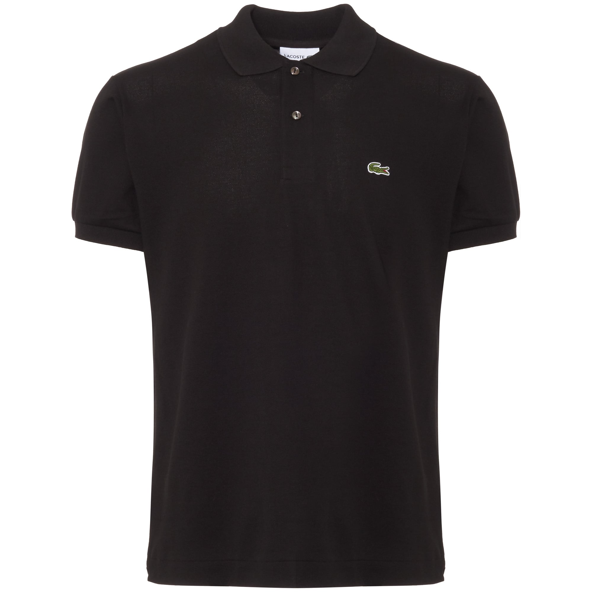 Lacoste polo shirt lacoste classic pique black polo shirt l121200031 PKEPSZX