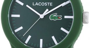 Lacoste watches for men amazon.com: lacoste menu0027s l.12.12 green silicone strap watch 2010763:  lacoste: watches ANDKJMN