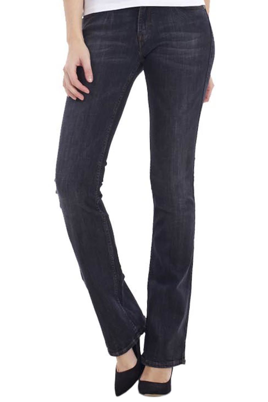 Ladies Bootcut Jeans sentinel ladies bootcut jeans womens blue cotton indigo slimboot denim  bootleg pants YZGGSQZ