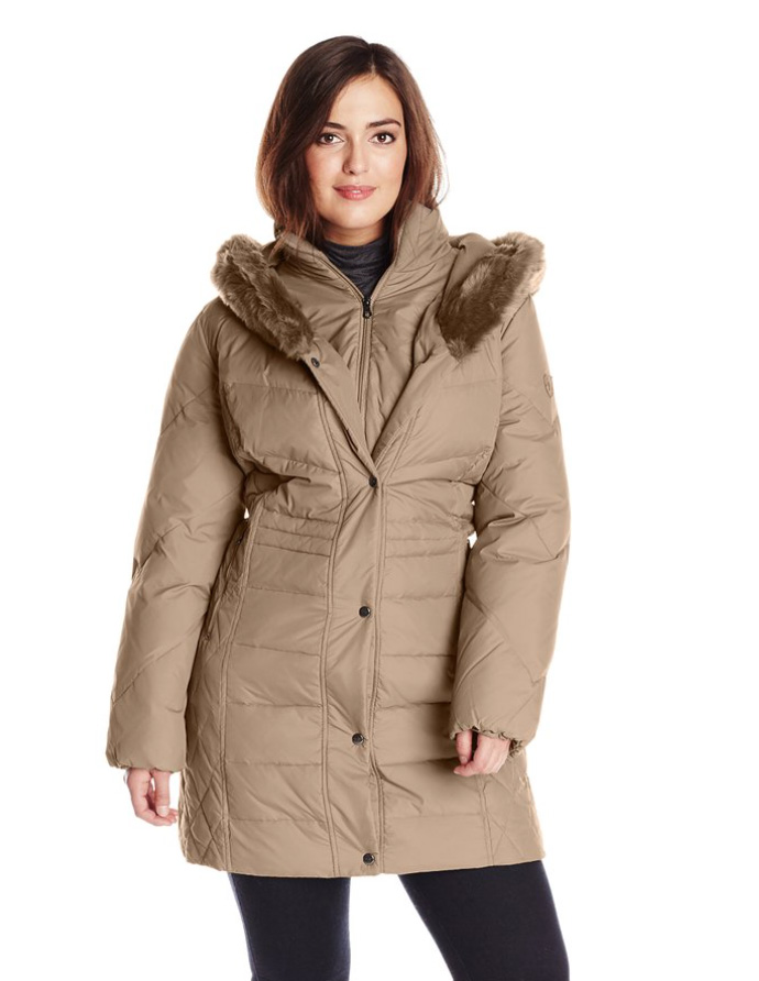 Ladies Lightweight Winter Parka plus size winter coats, winter coats, womens winter coats, womens coats,  womens QAROUHJ