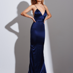 Long Silk Dress – long fits in different designs