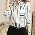 Shine with a long sleeve blouse at the party