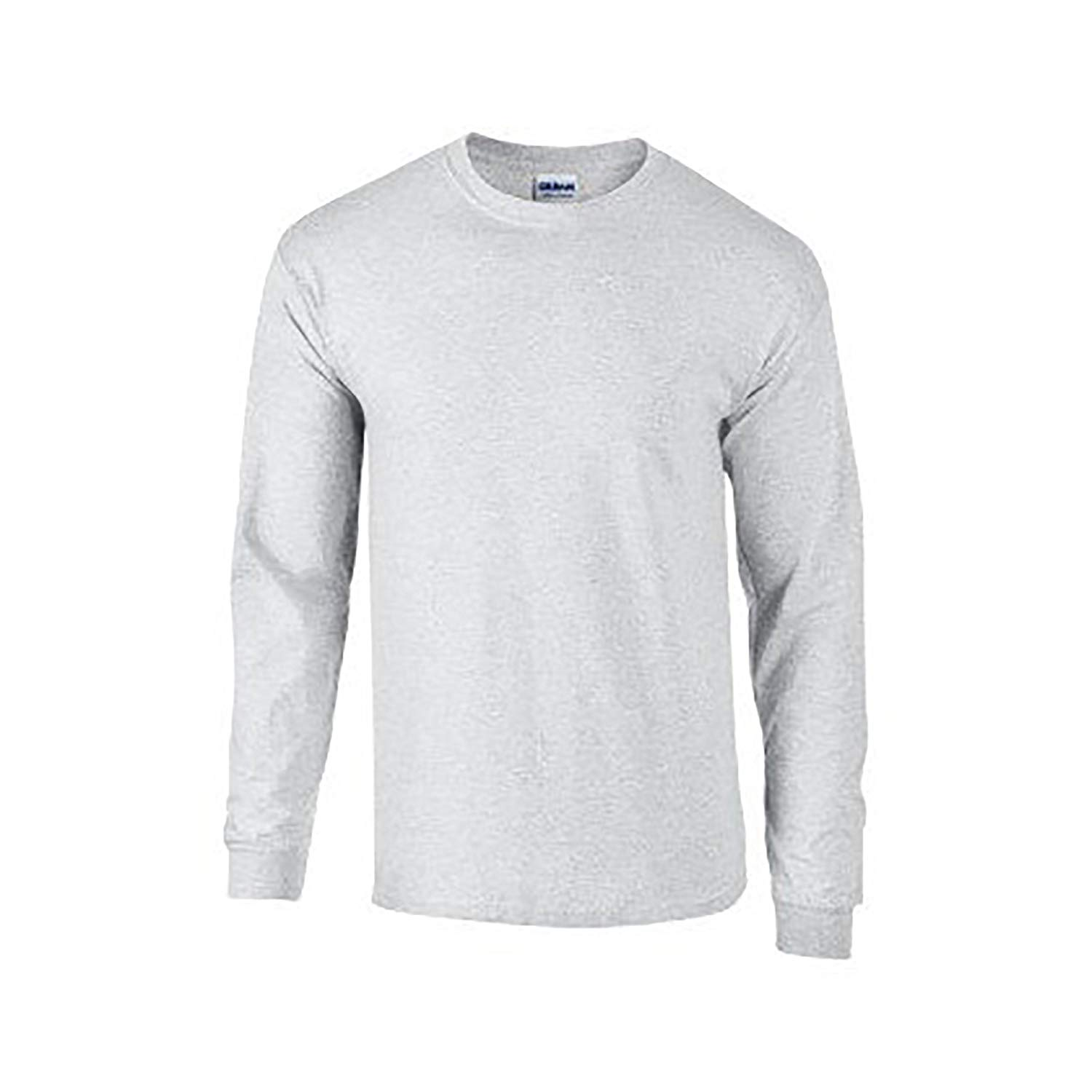Long Sleeve Shirts for Men amazon.com: gildan mens plain crew neck ultra cotton long sleeve t-shirt:  clothing ZMFVLBW