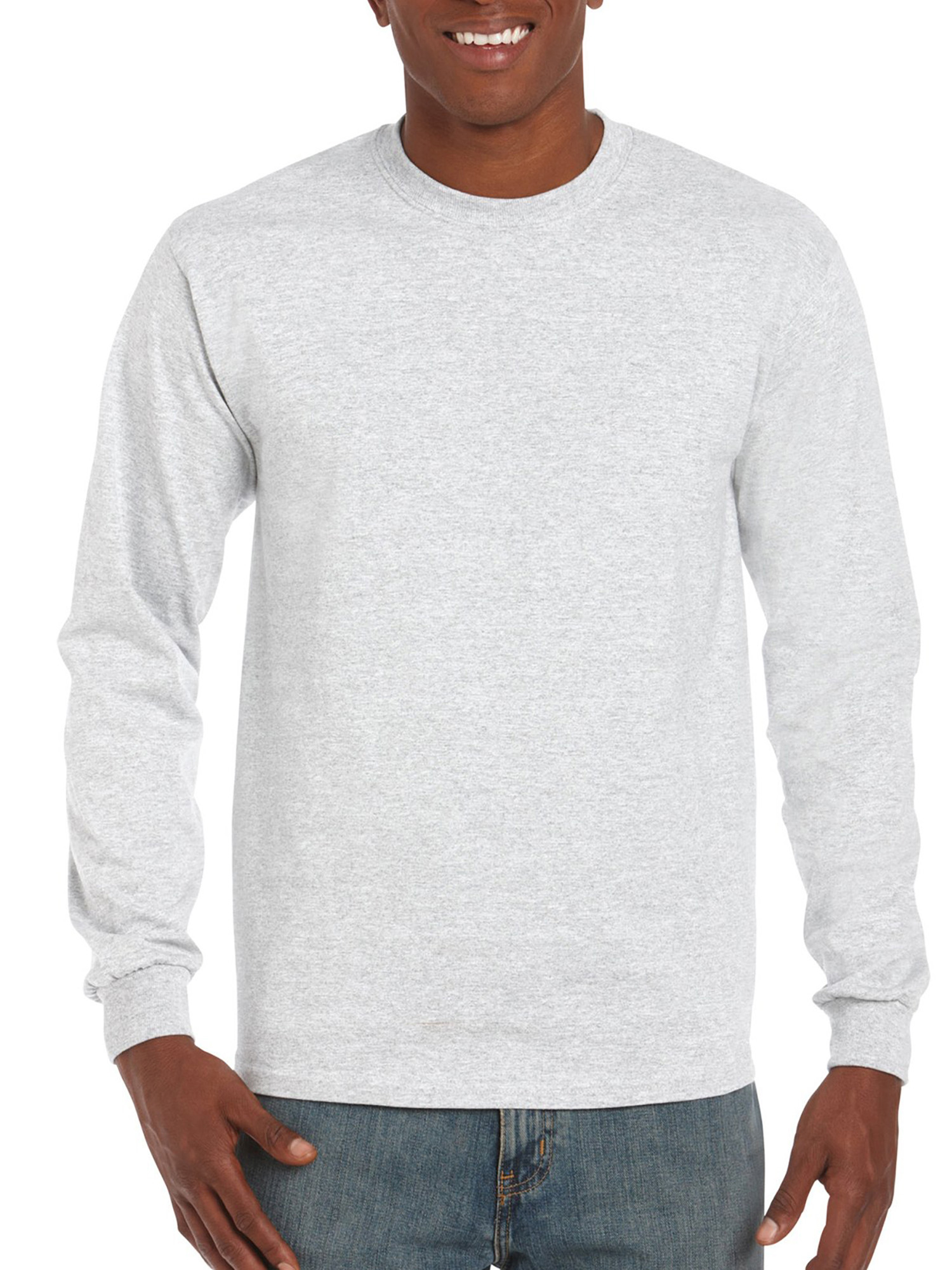 Long sleeve T-shirt gildan mens classic long sleeve t-shirt LUHIREO