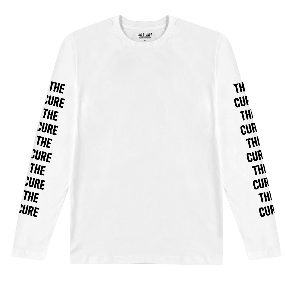Long sleeve T-shirt the cure white long sleeve t-shirt ... VDHIWTI