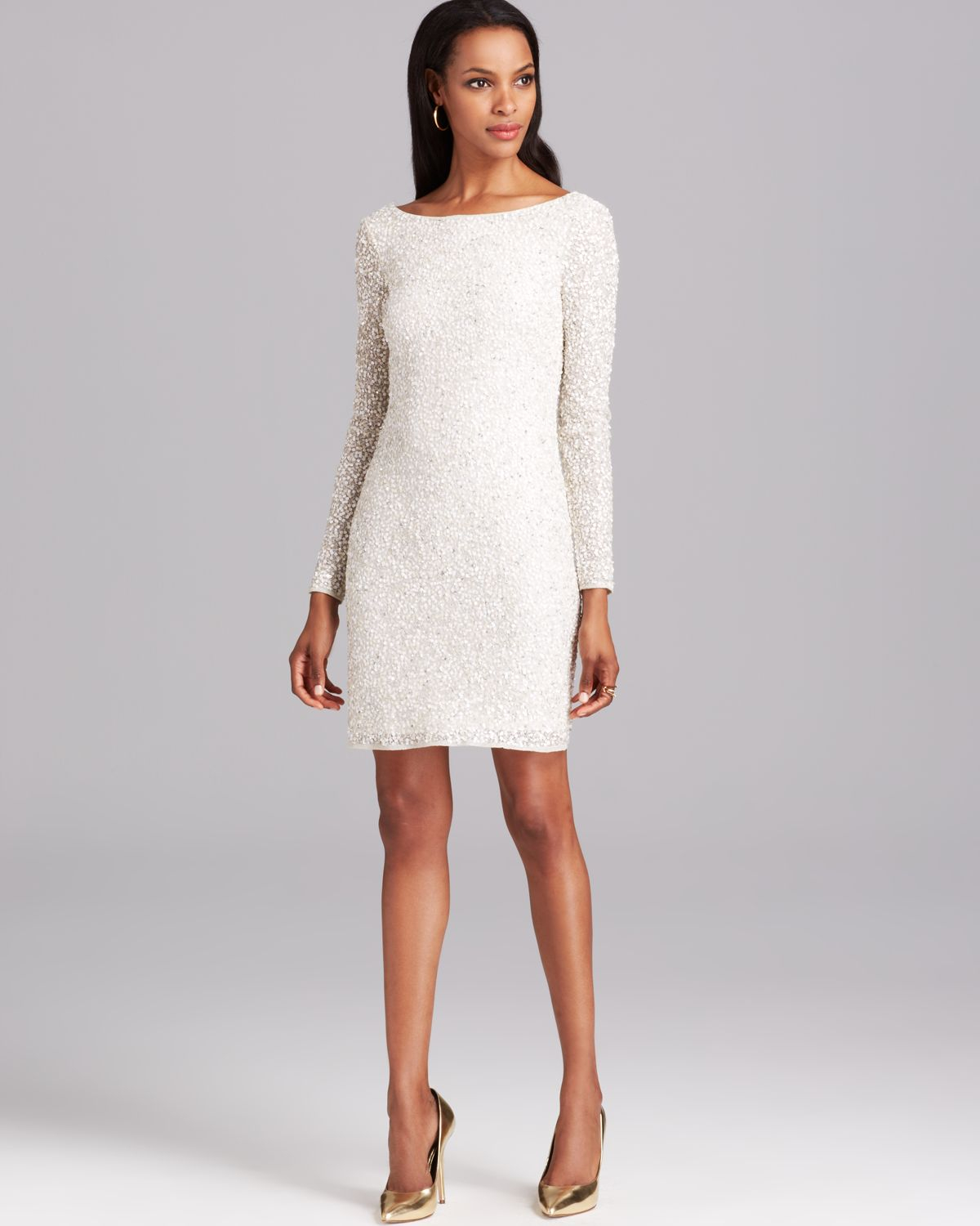 LONG SLEEVED COCKTAIL DRESSES