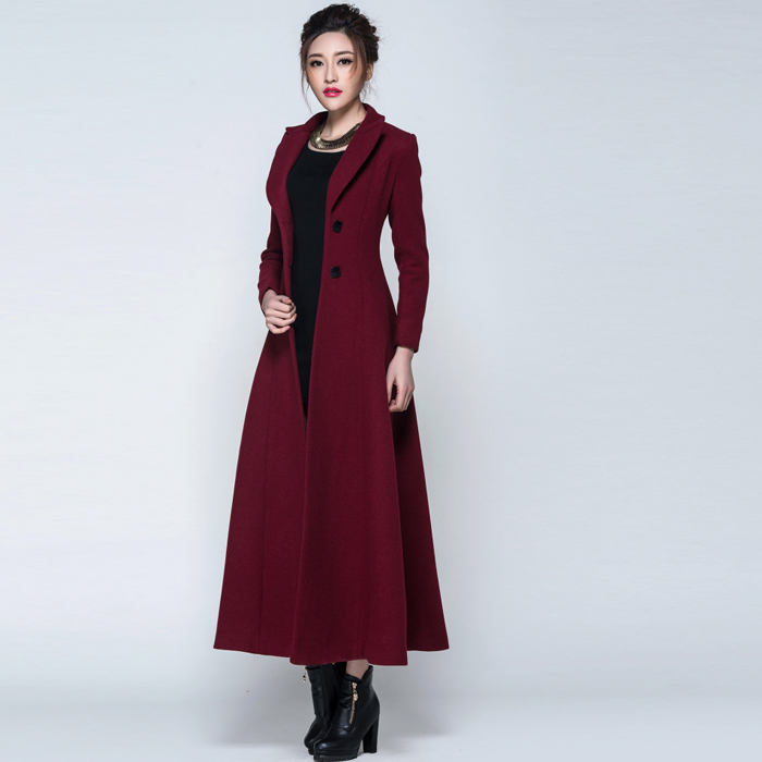 Long Winter Women's Coats long winter jacket for ladies trendy QYGEPWT