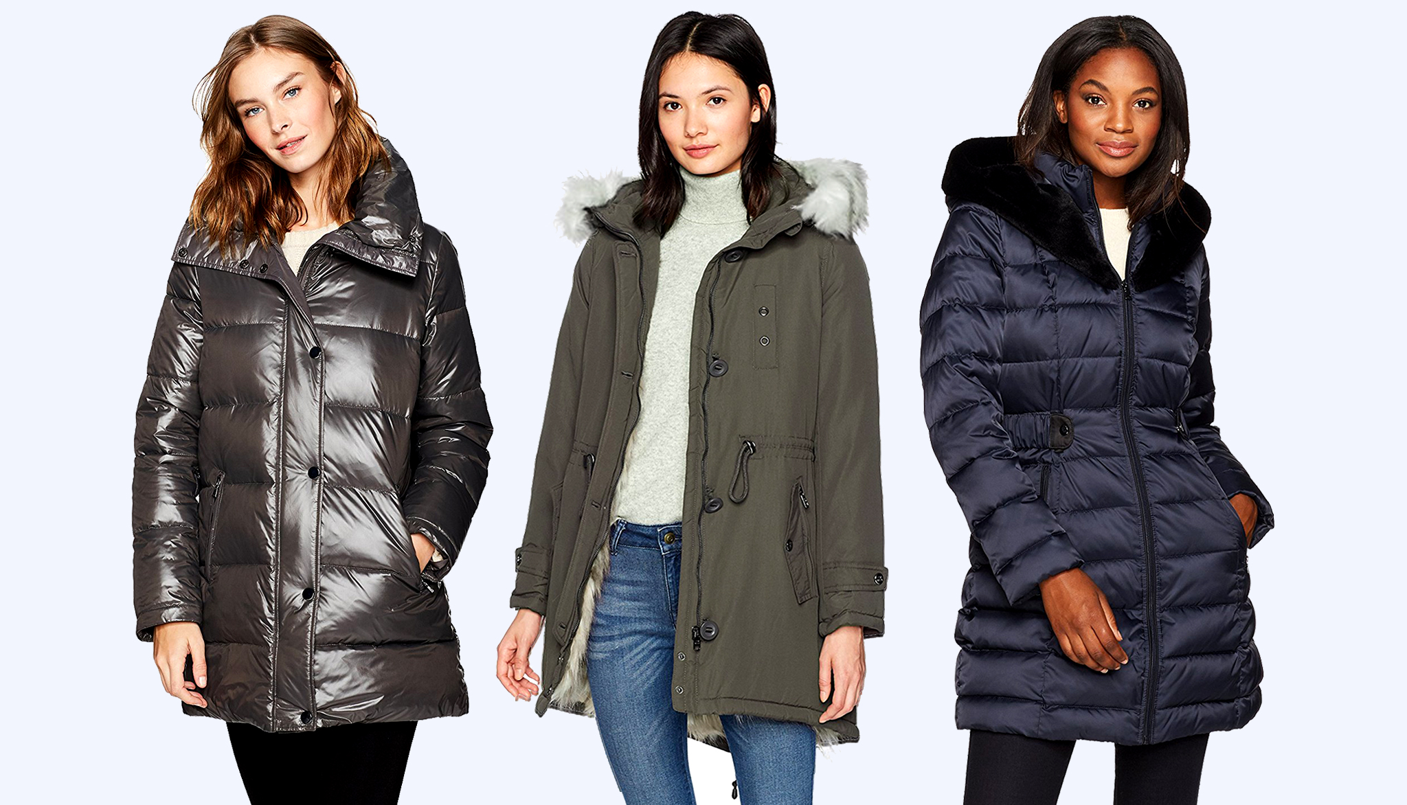 Long Winter Women's Jackets 10 warmest womenu0027s winter coats under $100 VYIRTSG