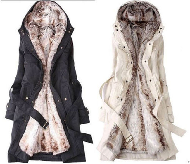 Long Winter Women's Jackets coat, winter coat, womenu0027s coats, winter coat, winter coat, white coat,  furlined, cute NRYIEKU