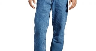 Loose Fit Jeans for Men bcc men-s relaxed fit jeansu0026nbsp; ... QYAKBTR