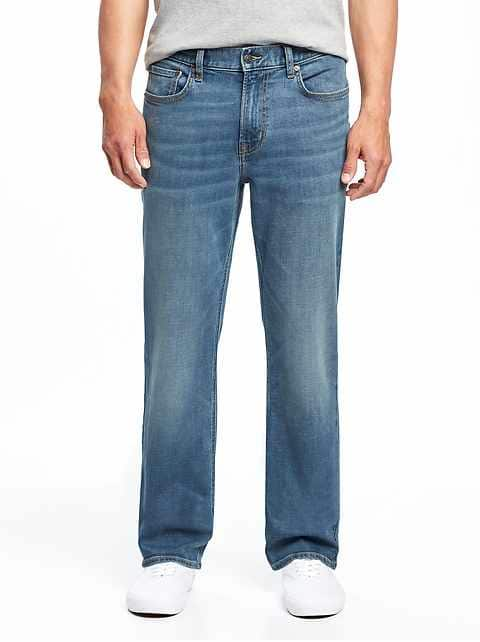 Loose Fit Jeans for Men loose built-in flex jeans for men IMBDRVI
