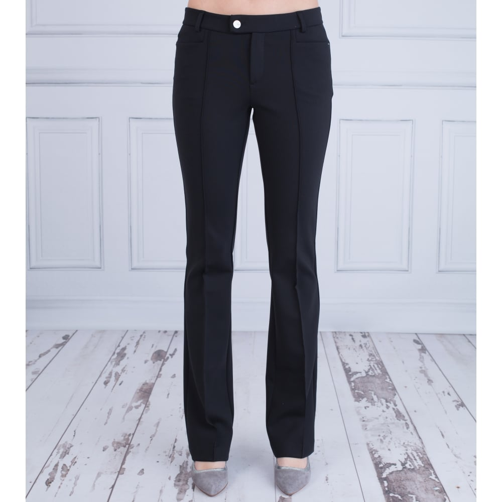 MAC TROUSERS luxury dream bootcut trouser with centre pleat 32 ... OTOHZPW