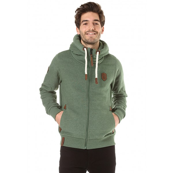 Casual through everyday life in a Naketano sweat jacket for men