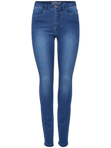 ONLY JEANS image is loading only-women-jeans-royal-high-sk-denim-jean- CZBLSHV