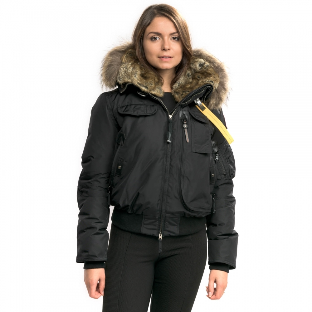 Parajumpers Jackets for Women parajumpers gobi womens hooded bomber jacket OPDPRIH