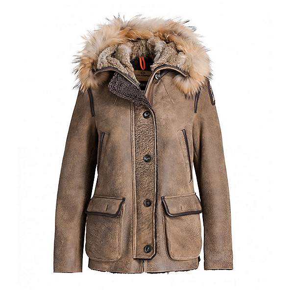 Parajumpers Jackets for Women parajumpers janies womens jacket, brown, 256 XLKVHEW