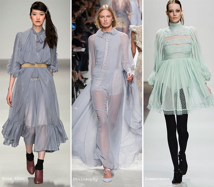 Pastel colors fashion fall 2015 trend of pastel colors: dresses IKYJHUJ