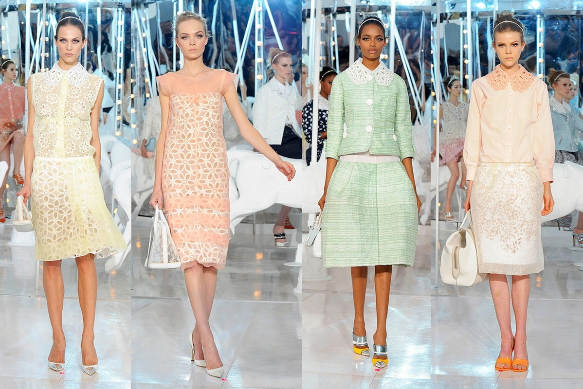 Pastel colors fashion ss12 fashion trend report: pastel colors EXVUTCL