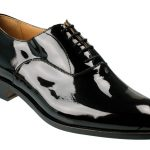Patent Leather Shoes as trend model and classic