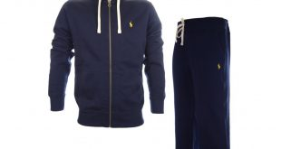 Ralph Lauren Tracksuits polo ralph lauren zippered fleece hooded navy full tracksuit ... TTMJLDX