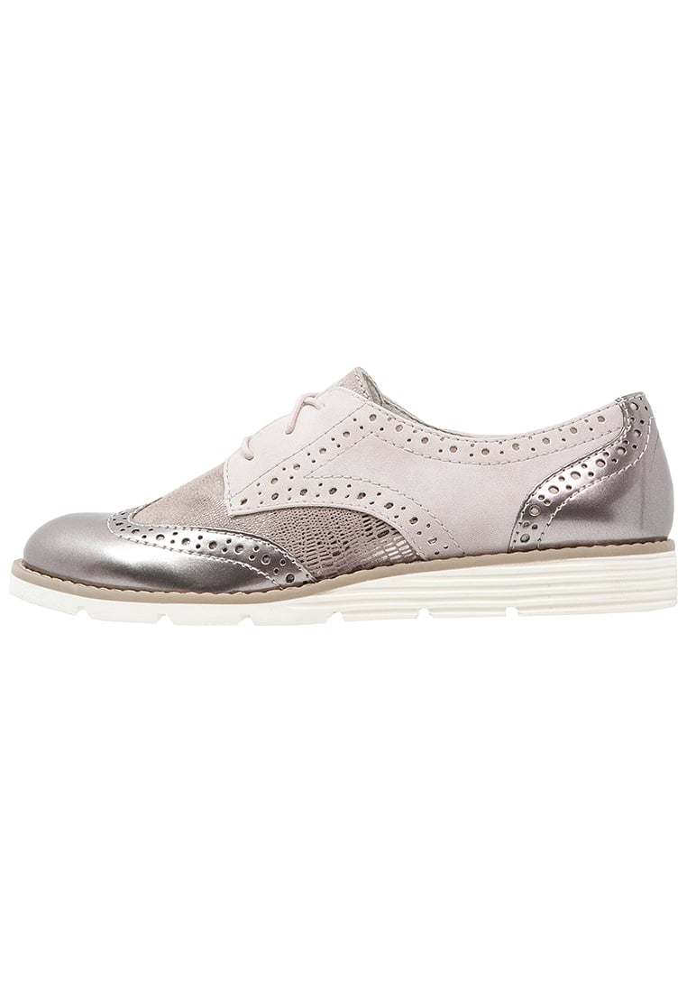 s.Oliver Women's Shoes s.oliver lace-ups - rose women shoes flats u0026 brogues lilac QCMJJJD