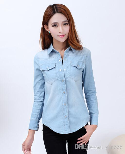 543975ca23f2 Shirt for women – for looks feminine and casual – ChoosMeinStyle