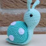 Beautiful snail crochet patterns