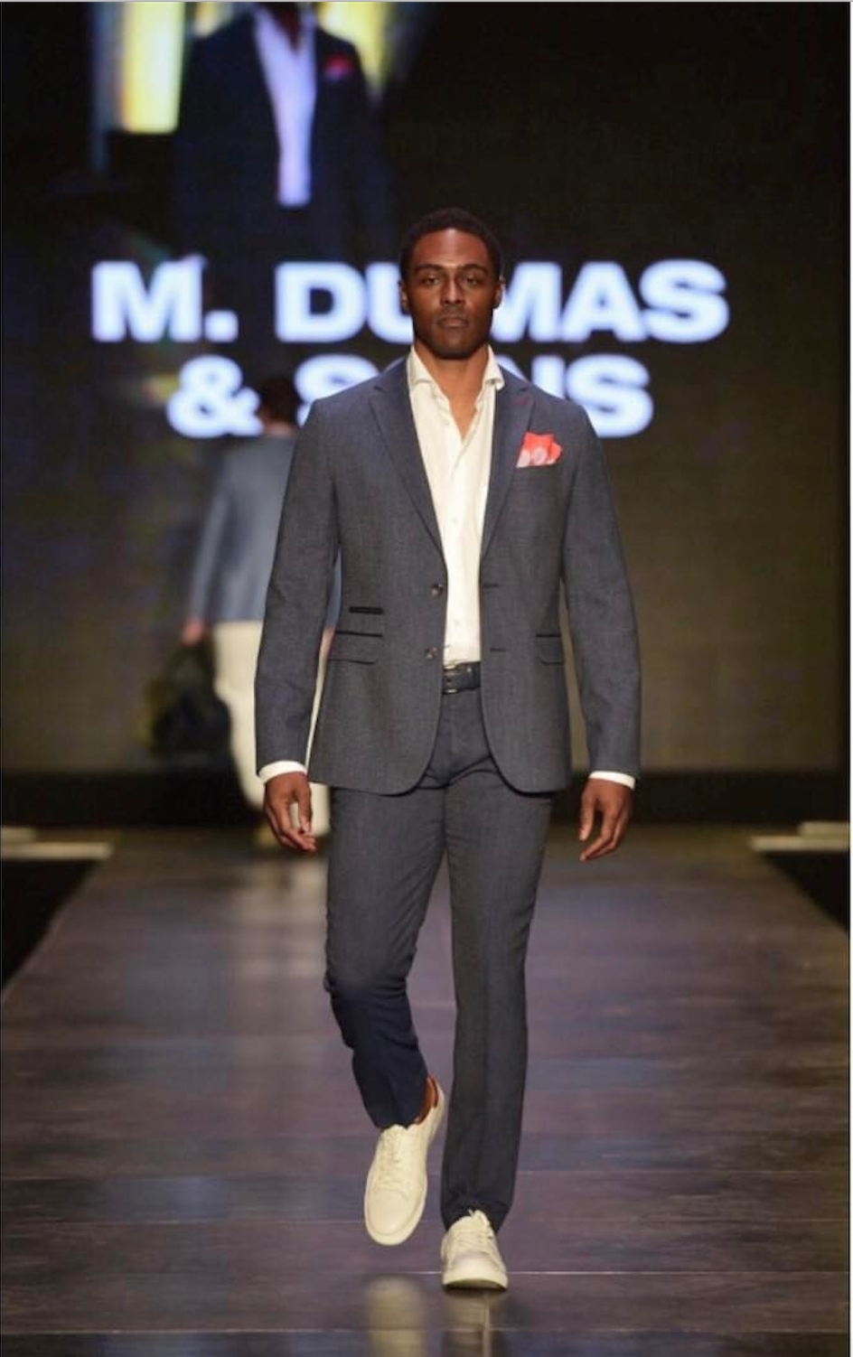 sneakers with suit m. dumas u0026 sons, charleston fashion week, sneakers and suit RQOCCRS