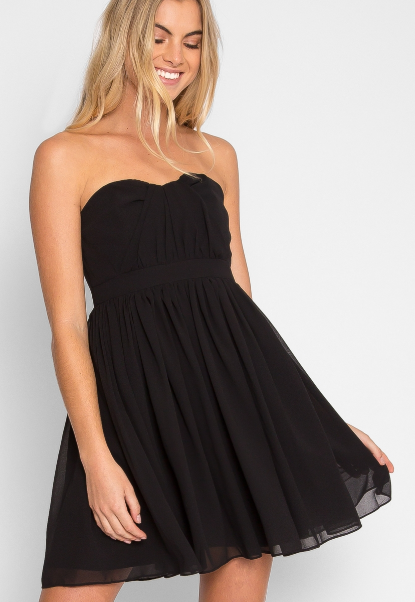 Strapless dresses ... homecoming queen strapless dress - wet seal ... BJOFGZW
