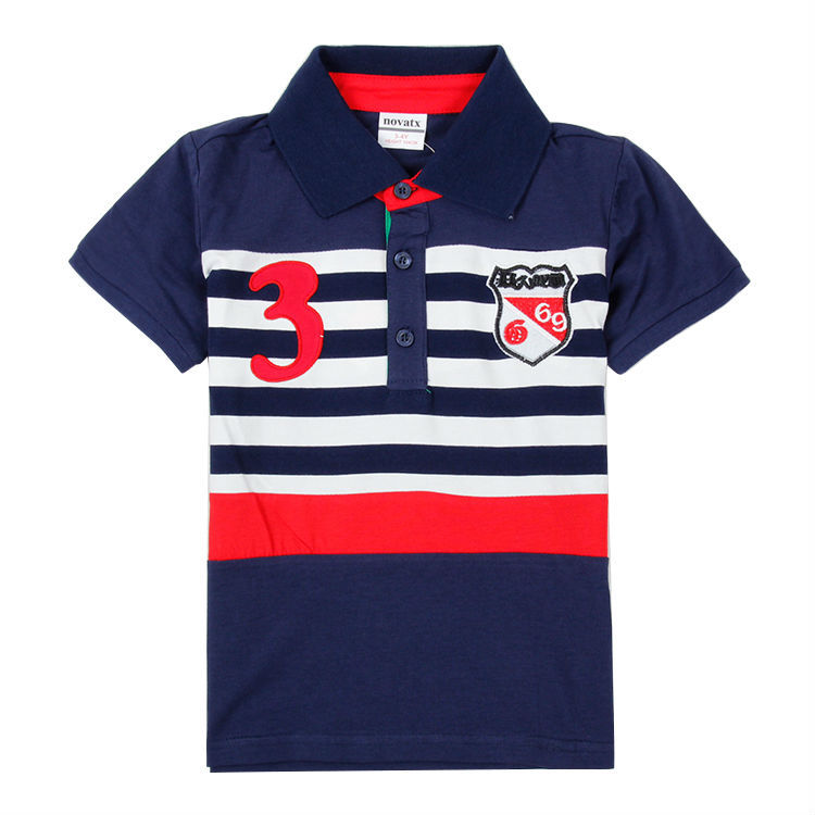 T-shirts for boys c6261 navy (1) BALQJVT
