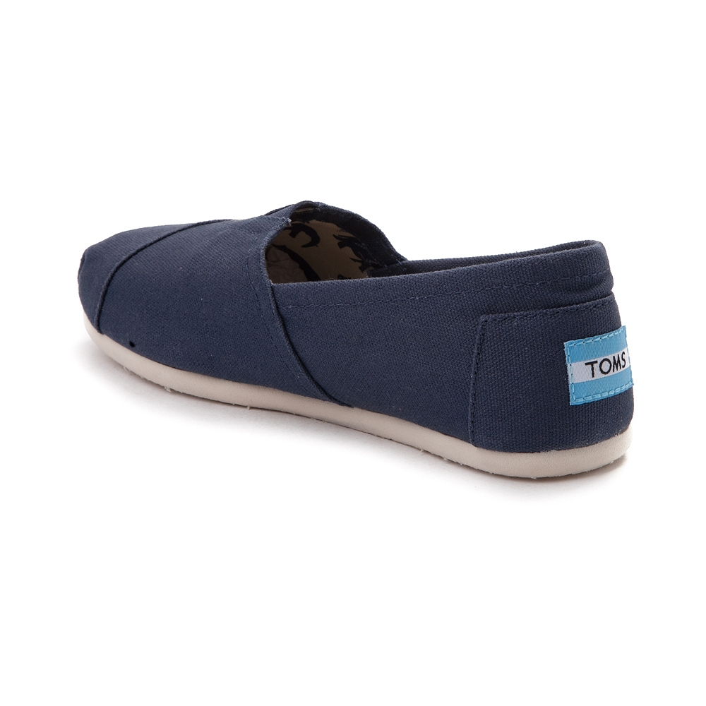 Tom's Shoes ... alternate view: womens toms classic slip on casual shoe - navy - alt2  ... JHOSKOX