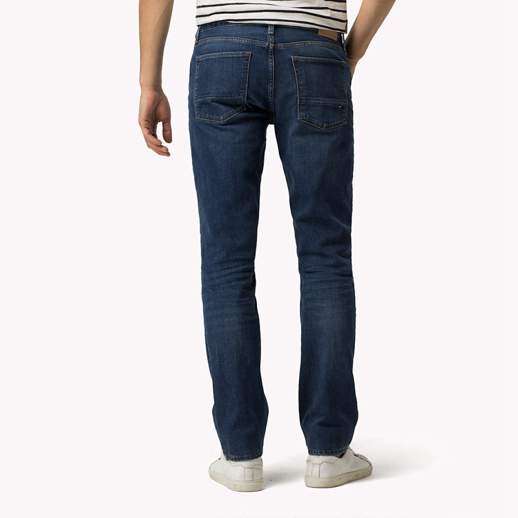 Tommy Hilfiger Mercer Jeans tommy hilfiger mercer regular fit jeans in boca indigo/blue men tommy  hilfiger jeans online AMMCXQB