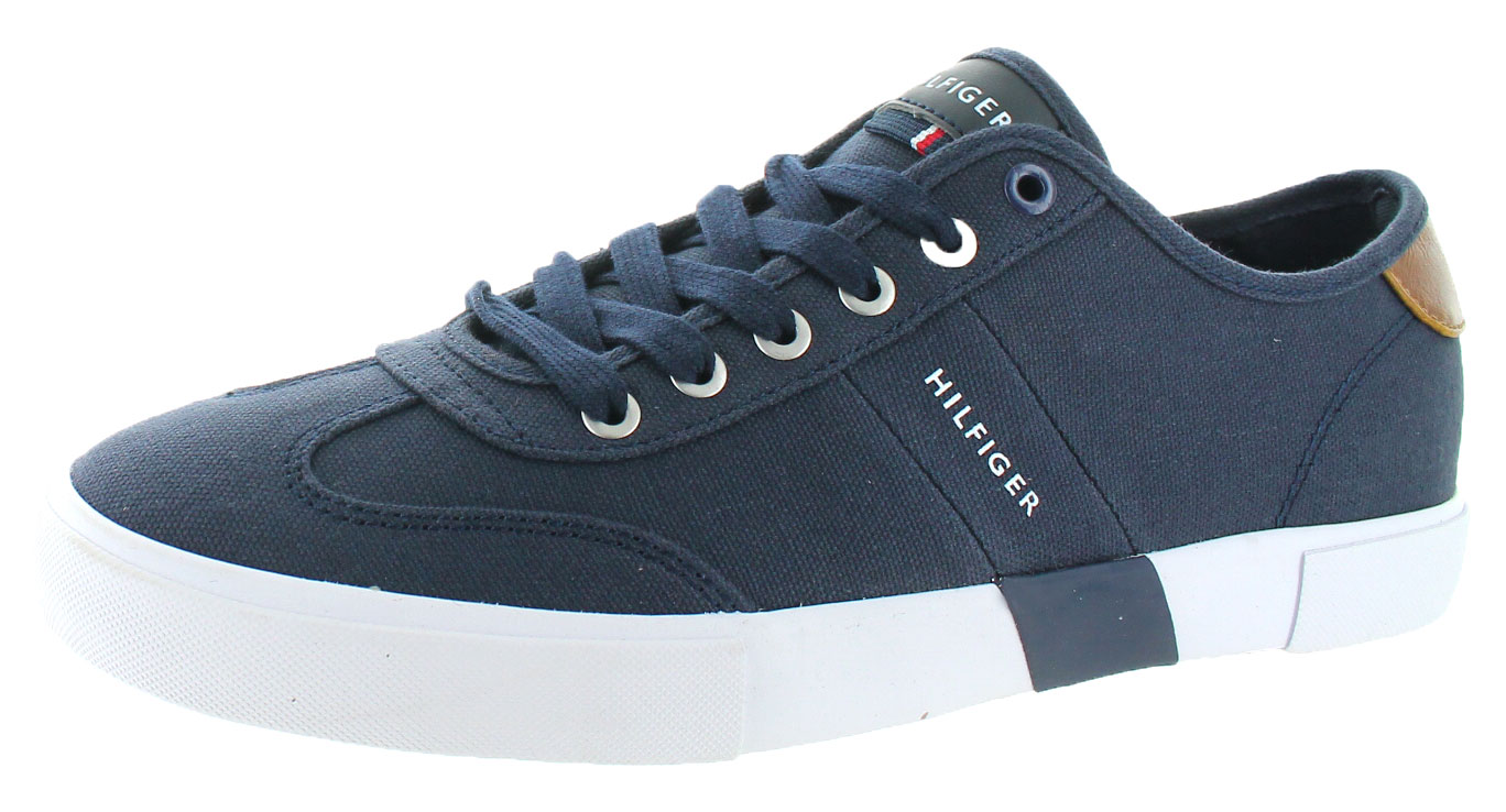 TOMMY HILFIGER SNEAKERS FOR MEN tommy-hilfiger-pandora-men-039-s-canvas-fashion- KFNCFTI