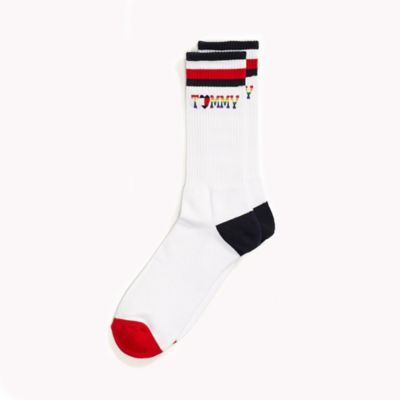 TOMMY HILFIGER SOCKS tommy pride collection sock ZDKFRDH