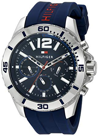 Tommy Hilfiger Sport Watches tommy hilfiger menu0027s 1791142 cool sport analog display quartz blue watch JRUWFPT