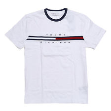 TOMMY HILFIGER T-SHIRTS item 2 tommy hilfiger mens crew neck t-shirt short sleeve graphic tee flag  logo new PSWBUFP