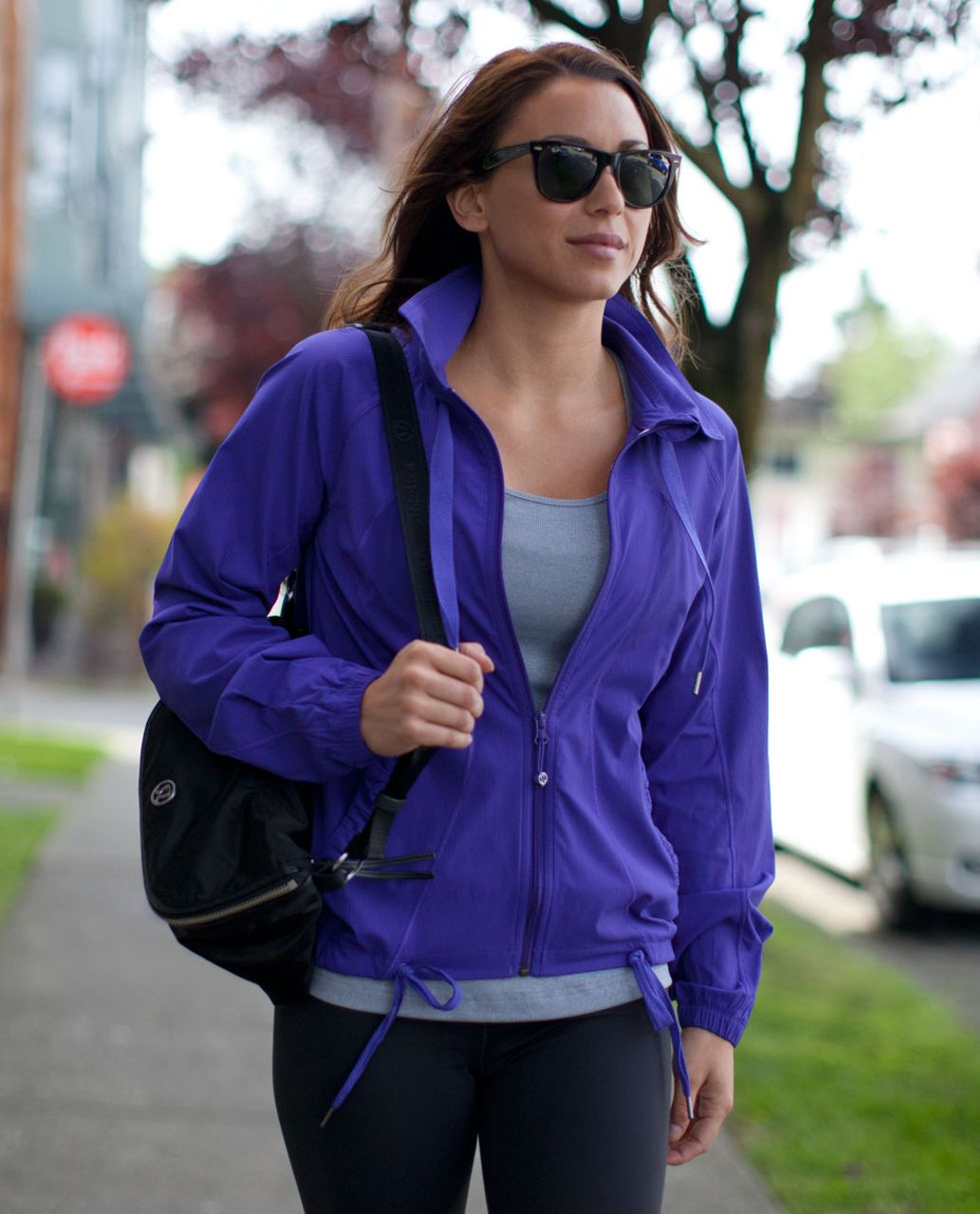 Transition jackets lululemon transition jacket - bruised berry NYTWOUU