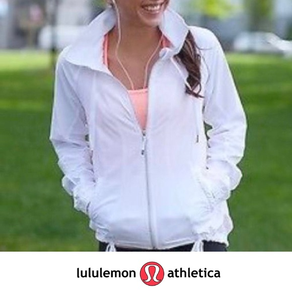 Transition jackets lululemon transition jacket - white GJFMZZJ