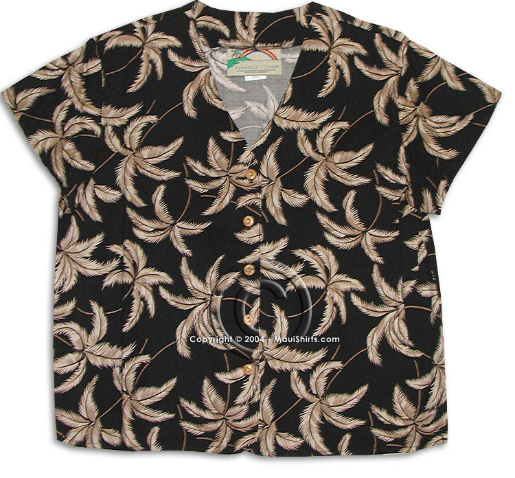 typhoon BLOUSES typhoon hawaiian aloha blouse VQVOYHR