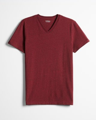 V-shirts express view · heathered slim stretch cotton v-neck tee HFQOMXS