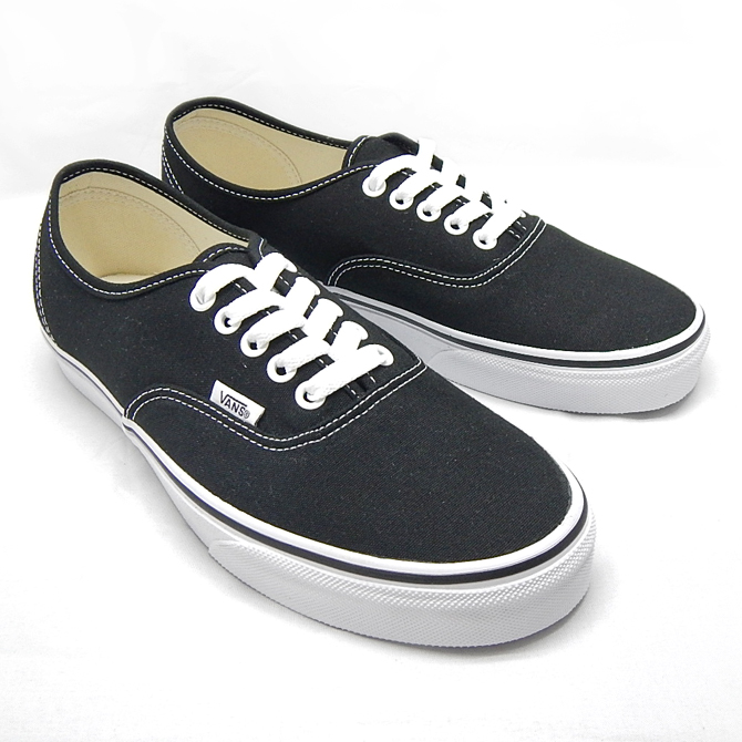 VANS Sneaker vans vans mens womens sneaker classics authentic black vn-0ee3blk adidas  skateboard shoes black FXTJJDV