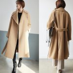 Waisted winter coat
